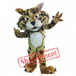 High Quality Fierce Wildcat Mascot Costume