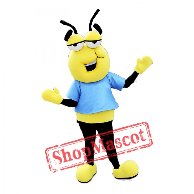 Lazy Bee Mascot Costume
