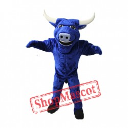 High Quality Blue Bull Mascot Costume