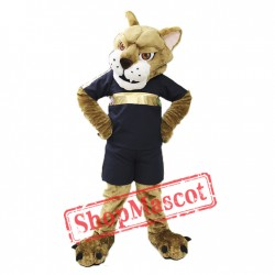 Mountain Lion Mascot Costume
