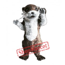Cute Otter Mascot Costume