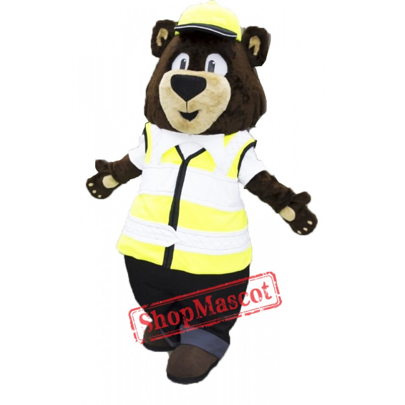Carl Bear Mascot Costume