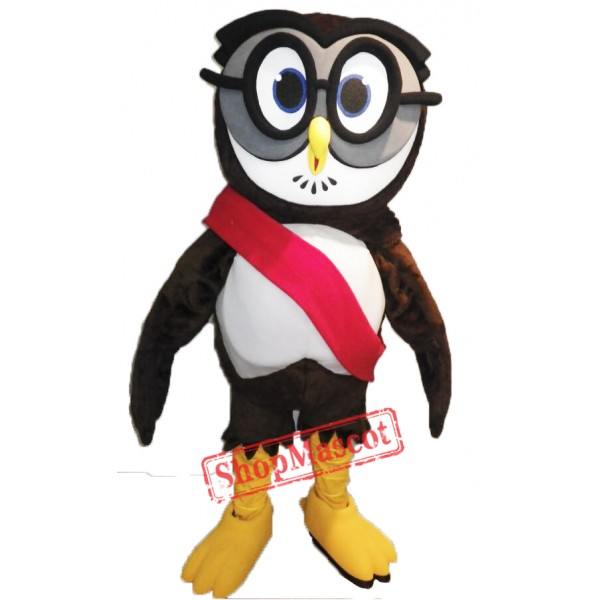 High Quality College Owl Mascot Costume
