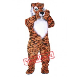 Professional Quality Tiger Mascot Costume