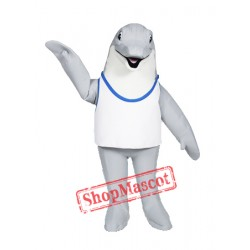 Professional Quality Dolphin Mascot Costume