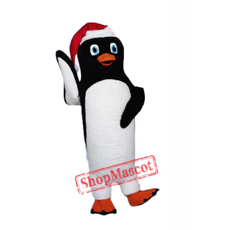 Christmas Adult Penguin Mascot Costume