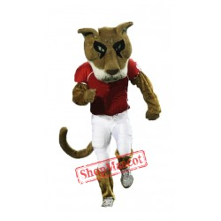 College Cougar Mascot Costume