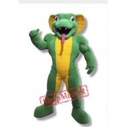 Power Cobra Mascot Costume