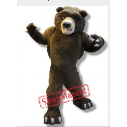 College Grizzly Bear Mascot Costume