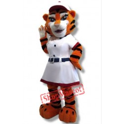 Mom Tiger Mascot Costume