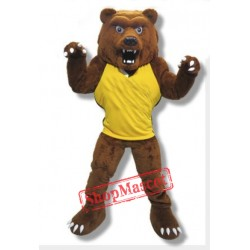 Power Grizzly Bear Mascot Costume