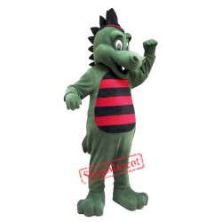 College Dragon Mascot Costume