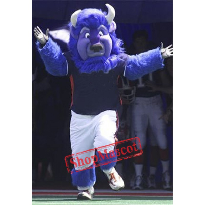 Blue Buffalo Mascot Costume