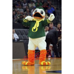 College Duck Mascot Costume