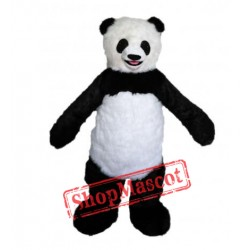 Adult Size Fancy Panda Mascot Costume