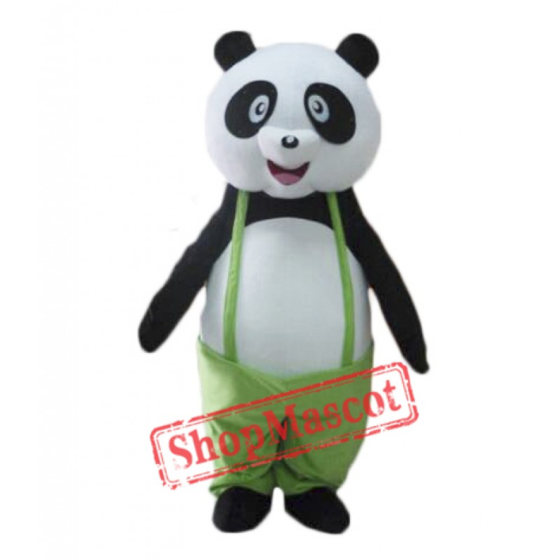 Happy Panda Mascot Costume