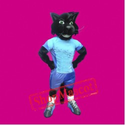 Sport Black Cat Mascot Costume