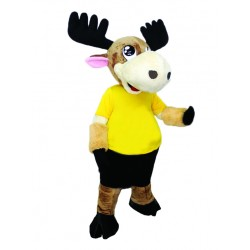 Super Cute Moose Mascot Costume