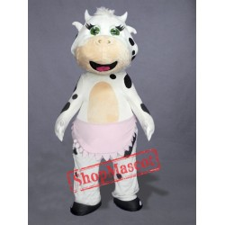 Brand New Cow Mascot Costume