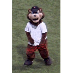 Baseball Bear Mascot Costume