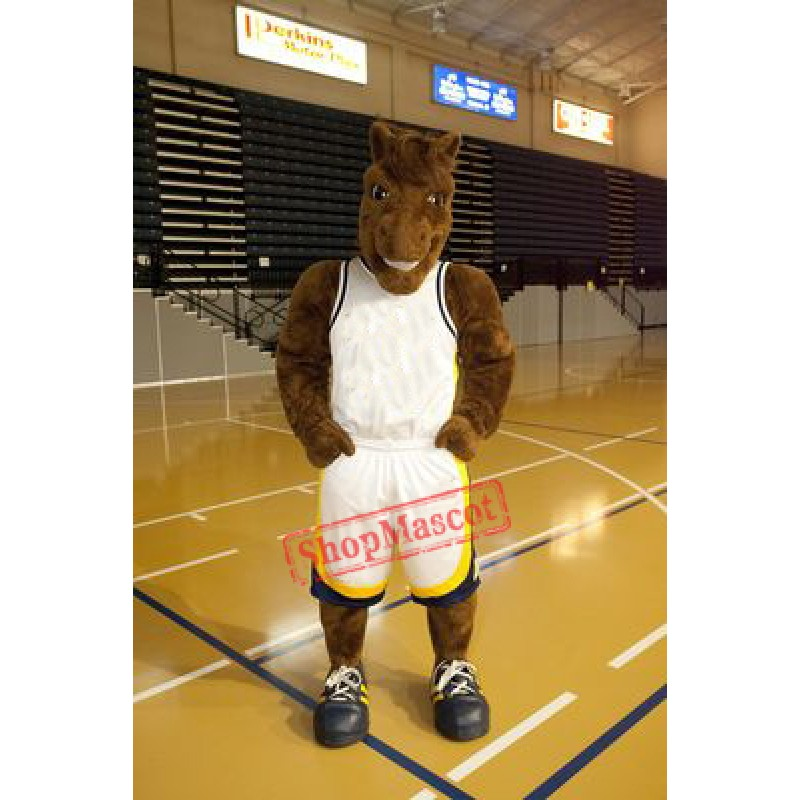 Basketball Horse Mascot Costume
