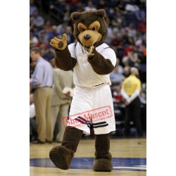 Brown Wolf Mascot Costume