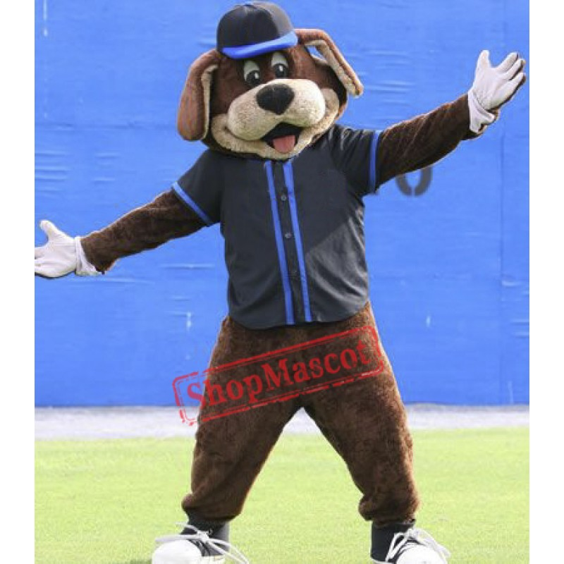 Baseball Dog Mascot Costume
