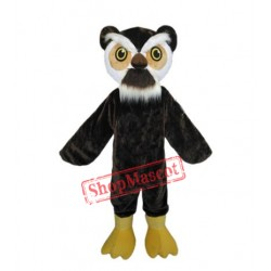 Adult Size Fancy Owl Mascot Costume Carnival Dress