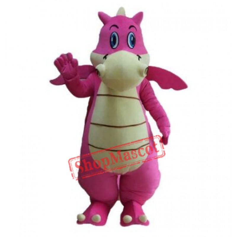 Fancy Dinosaur Mascot Outfit Party Costume
