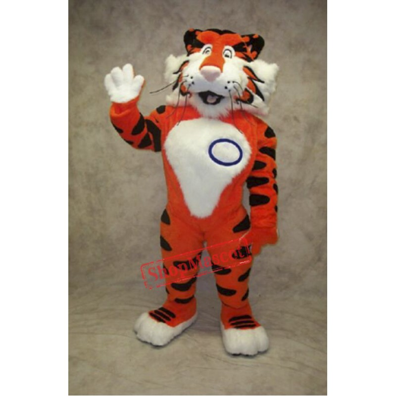 Friendly College Tiger Mascot Costume