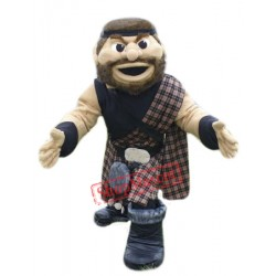 College Highlander Mascot Costume