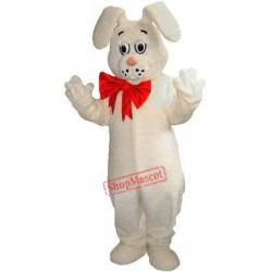 White Lightweight Rabbit Mascot Costume