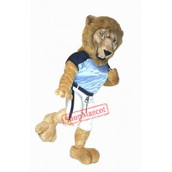 College Lightweight Lion Mascot Costume
