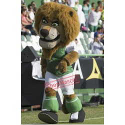 Football Lion Mascot Costume