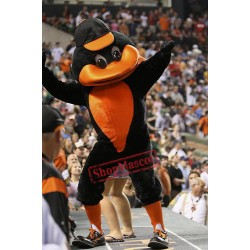 College Sport Duck Mascot Costume