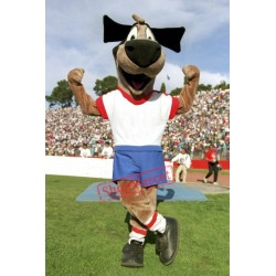 Soccer Dog Mascot Costume