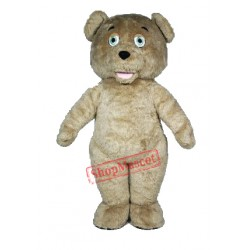 The Shaggy Teddy Bear Mascot Costume