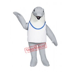 Cute Lightweight Dolphin Mascot Costume