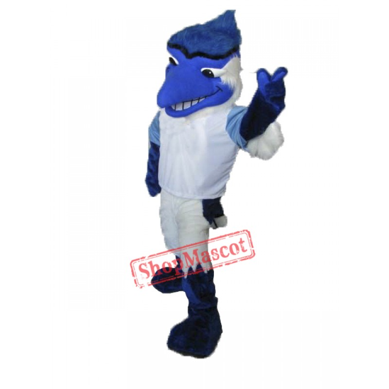 College Blue Jay Mascot Costume