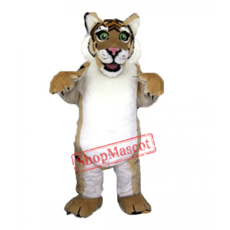 Professional Quality Furry Tiger Mascot Costume