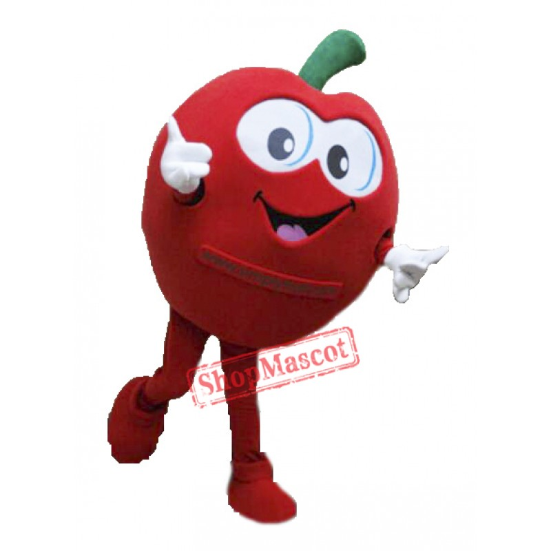 High Quality Apple Mascot Costume