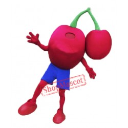 High Quality Cherry Mascot Costume