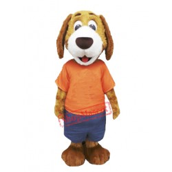 Cute Lightweight Dog Mascot Costume For Adult