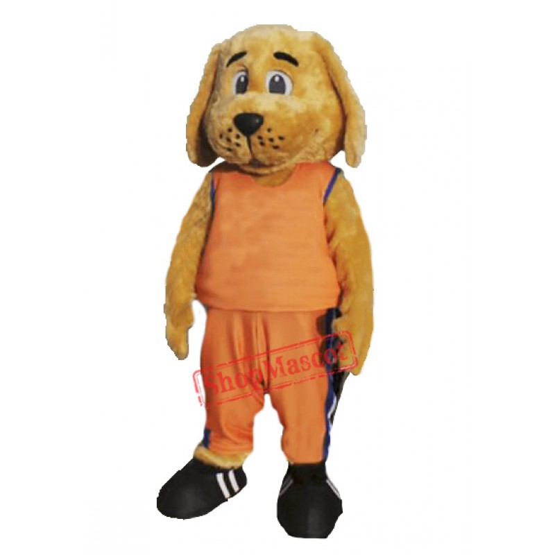 Sporty Dog Mascot Costume