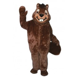 High Quality Furry Beaver Mascot Costume