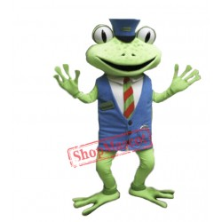 Cute Frog Mascot Costume For Adult