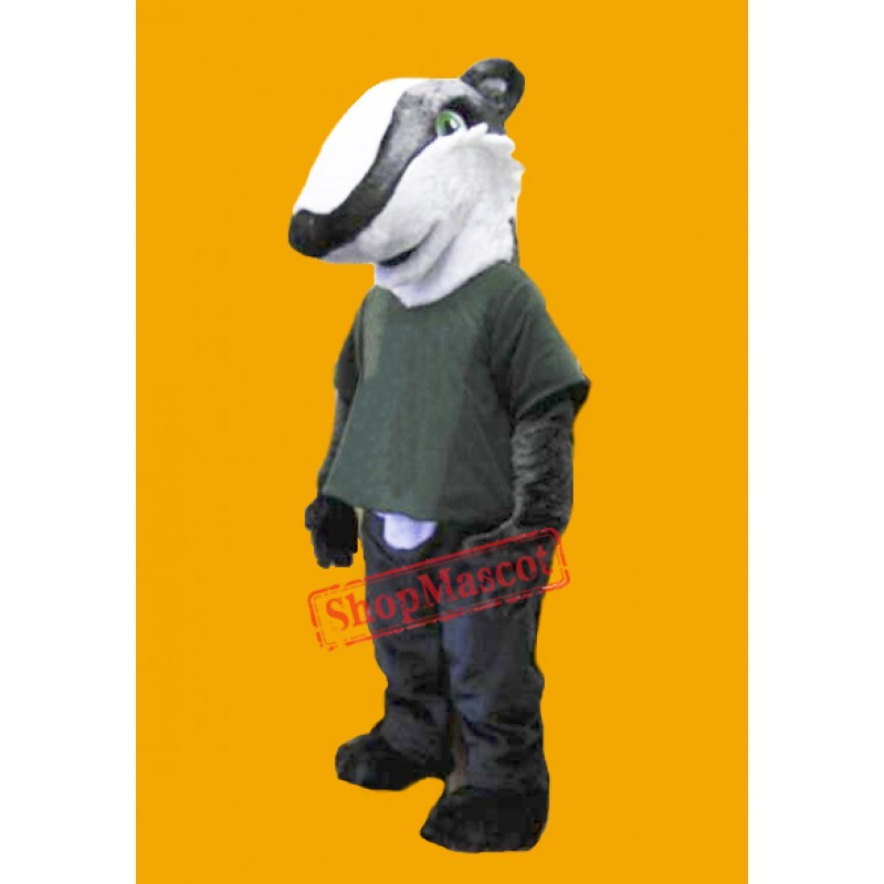 High Quality Badger Mascot Costume