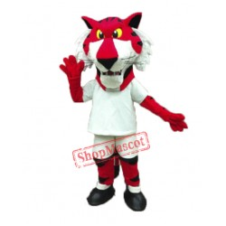 Red Tiger Mascot Costume