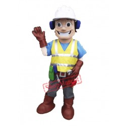 High Quality Builder Mascot Costume