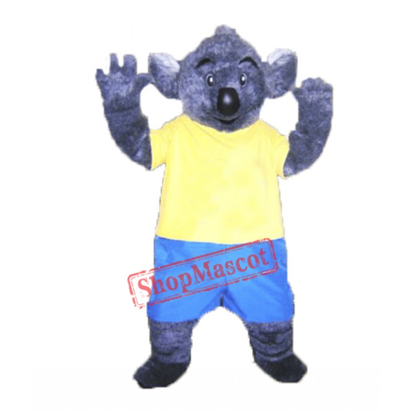 High Quality Furry Koala Mascot Costume